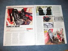 How-to Article on Installing a Race Seat and Five-Point Harness  '59 Chevy Truck