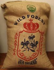 Mocha Java Organic Coffee Whole Beans Fresh Roasted Daily 6 - 1 Pound bags