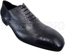 CESARE PACIOTTI BLACK CAP TOE OXFORDS SHOES US 13