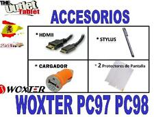 "PACK ACCESORIOS PARA TABLET WOXTER PC97 PC98 9.7"" HDMI + USB + 2 PROTECTORES"