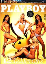 PLAYBOY D 1/2008 Januar - Playmate-Kalender 2008 + Roberta Mancino + Nina Hoss