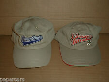 2 George Strait Tour Hat Cap New Lot Rare Made in Usa Khaki Nos country music