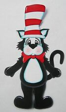 CraftECafe Paper Piecing Cat in the Hat Dr Seuss for Premade Scrapbook Layout