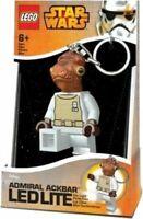PORTACHIAVI LEGO STAR WARS TORCIA LED ADMIRAL ACKBAR