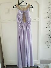 Flamode Paris fancy dress ballgown lilac size s/m new tagged