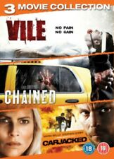 Vile / Chained / Carjacked DVD NEW dvd (ABD9039)