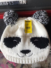 Panda Beanie Tillys Knit Snow Tags New One Size