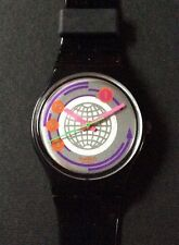 Swatch 1991 Black Inlay GB145 American Variant