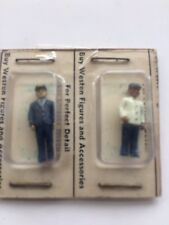 Vintage New Miniature Ho Scale Train Figures