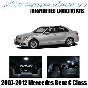 XtremeVision Interior LED for Mercedes C Class 2007-2012 (18 PCS) Pure White