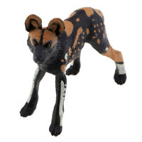 Animal Figure 14 Pcs Wild Animal Toy African Wild Dog Plastic Animal Models