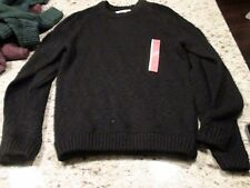 Mossimo Supply Men's Crewneck Sweaters Black Green Red Size S M L XL XXL