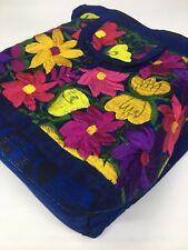 Guatemala Handmade Multicolor Floral Boho Hippie Shoulder Bag Crossbody F038