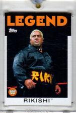 2016 Topps Heritage WWE Vault #97 Rikishi Card! Blank Back! One of One! 1/1!