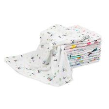Muslin Cotton Swaddle Blanket Bath Towel Burp Cloth Nursing Cover for Newborn