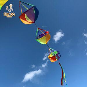 "62"" Windsocks Wind Twister Spinners Rainbow Kite Flag Garden Yard Decoration"