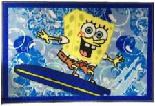 Sponge bob Squarepants spongebob Surfing in Shorts Floor Mat/Rug 20x30 Kids Room