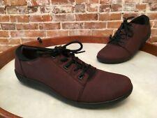 Clarks Dark Brown Nubuck Leather Medora Bella Lace up Shoes NEW