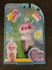 WowWee AUTHENTIC Fingerlings Interactive Toy Melody Pink Glitter Baby Sloth