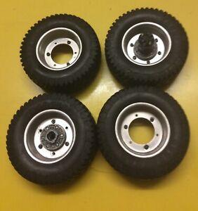 Tamiya Vintage Toyota Hilux Wheels and Tyres