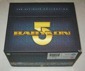 Babylon 5 - The Ultimate Collection - Box Set - VGC - Region 2 - DVD