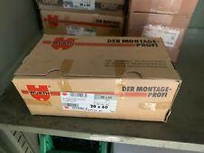 25x Würth Sechskantschraube  M20x60 DIN 933 8.8 Sechskant verzinkt Vollgewinde