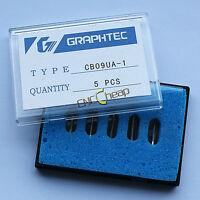 5PCS 45° Blades Fit for Graphtec CB09 Vinyl Cutter Cutting Plotter