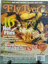 Fly Tyer Summer 2016 16 Hot Flies Best Guide Tested Spinners FREE SHIPPING sb