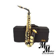 Stellar ALTO Saxophone Black/ Lacquer  FREE YAMAHA CARE KIT