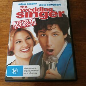 The Wedding Singer DVD R4 VERY GOOD - FREE POST Special Edition