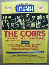 London FLEADH 2000 - The CORRS - MUSIC PRESS ADVERT POSTER 30 X 22 CM