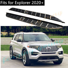 fits for Ford Explorer 2020 2021 Running board side step nerf bar stainless