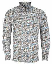 Paisley Unbranded Button Down Casual Shirts & Tops for Men