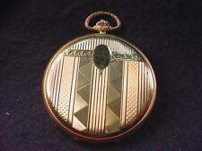 18 Kt Hunting Case Levrette Gorgeous Art Deco Fully Restored Watch! #9977