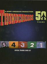 GERRY ANDERSON THUNDERBIRDS 50 YEARS UNSTOPPABLE COLLECTOR CARD BINDER ONLY TV21