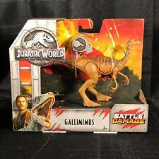 Gallimimus Jurassic Battle Damage Dinosaur Toy World Fallen Kingdom Mattel 2018