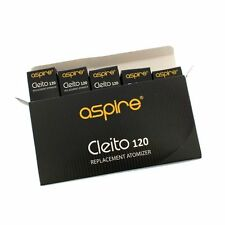Authentic Aspire Cleito 120 (5 Of pack) 0.16Ω UK SELLER FAST DISPATCH