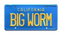 Friday | Ice Cube | Chris Tucker | BIG WORM | STAMPED Replica Prop License Plate