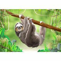 Sloth DIY 5D Full Drill Diamond Painting Cross Stitch Home Decoration