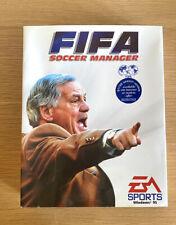 PC FIFA Soccer Manager Sport-Fußball EA Sports Win 95 Big Box komplett