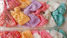 Joblot 12pcs Large Bow Design Sparkly hairclips hairgrips NEW wholesale Lot 5