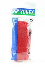 Yonex towel grip de remplacement 100% coton badminton squash-rouge