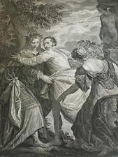 PAUL VERONESE /  L'HOMME ENTRE LE VICE & LA VERTU 1862