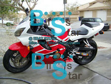 Red INJECTION Fairing + Tank Cover Kit HONDA CBR600F4i 02 2001-2003 39 B B1