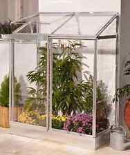 Mini Garden Greenhouse Outdoor Aluminium Frame Lean to Growhouse Plants Palram