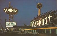 Las Vegas, NEVADA - Stardust Hotel - old cars, neon, 6¢ postage - Winchester NV