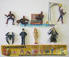 SPIDER-MAN (2) 2005 _ SORPRESINE DOLCI PREZIOSI (completa 8 pezzi + cartina)