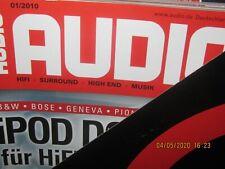 Audio Hifi Magazin Zeitschrift ,kompletter Jahrgang 2010 Heft 1-12