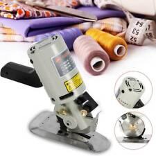110V Electric Cloth Cutter Fabric Leather Rotary Blade Cutting Scissors Machine