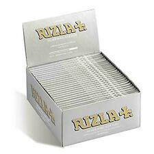 Original RIZLA Silver King Size Slim Rolling Tobacco Smoking Paper Skin Booklets